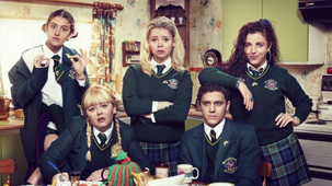 Derry Girls Television Promo Image.
