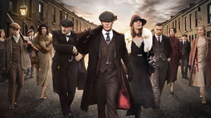 Peaky Blinders Television Promo Image.