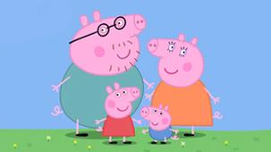 Peppa Pig Television Promo Image.