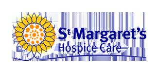 St Margaret's Hospice Care Logo.
