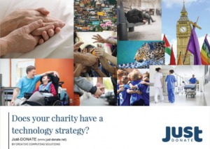 Just-Donate IT Strategy Whitepaper Cover.